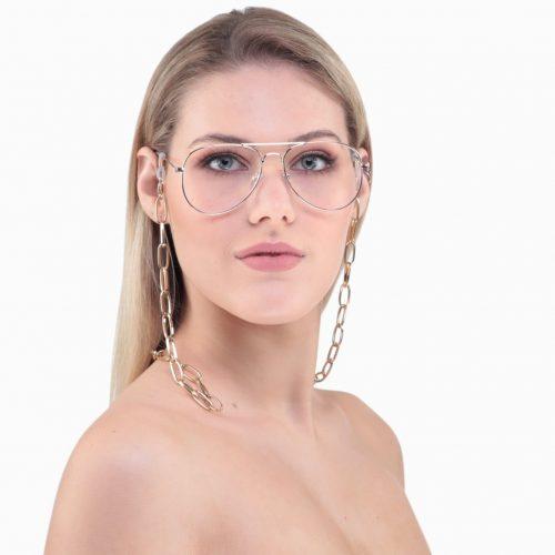 Gold Glasses Chain - Mortal