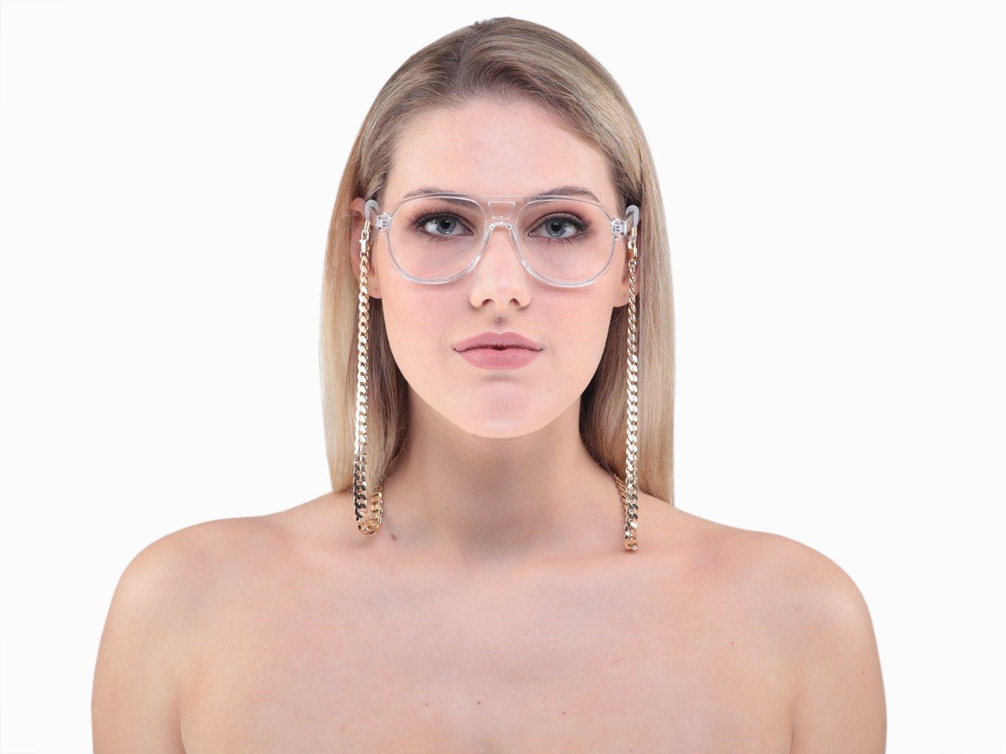 Gold Glasses Chain - Jett